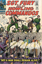Sgt. Fury and His Howling Commandos Comic Book #28, Marvel 1966 VERY FINE+ - $60.84