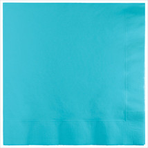 3 Ply Lunch Napkins Pastel Blue/Case of 500 - £31.45 GBP