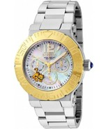 BRAND NEW INVICTA 24870 GARFIELD CHARACTER COLLECTION GOLD MOP DIAL  SILVERWATCH - $133.64