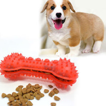 Teeth Puppy Treat Surface Training Chew Cat Bone Rubber Dog Pet Dental Fun Toy - $9.23