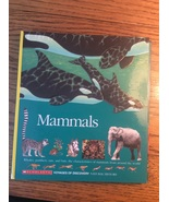 Mammals Scholastic voyages of discovery Natural History Whale Panther Ra... - $6.98