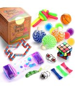 Fidget Toys Set, 25 Pcs., Stress Relief and Anti-Anxiety Tools Bundle fo... - $67.99