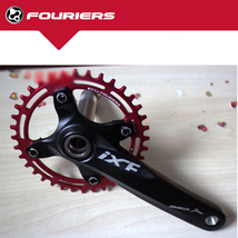New FOURIERS E1 CNC Bike Chain Ring 1xSystem 30-40T with BCD104 Crank Set - $92.99+