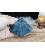 65mm Blue Apatite Pyramid - $37.00