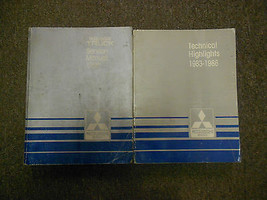 1986 Mitsubishi Truck Service Repair Shop Manual 2 Vol Set Factory Feo Book 86 - $47.47
