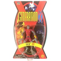 Generation X Skin Action Figure 1995 Marvel ToyBiz Sealed VTG X-Men - $9.85