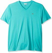 Lacoste Men's Premium Pima Cotton Sport Athletic Jersey V-Neck Shirt T-Shirt image 4