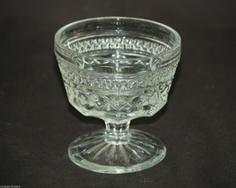 Old Vintage Wexford Clear Champagne Tall Sherbet by Anchor Hocking Mid-Century - $8.90