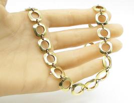 18K Gold & 925 Sterling Silver - Tiffany & Co. Bracelet & Necklace Set T... - $279.52