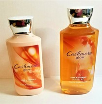 Bath & Body Works Cashmere Glow Body Lotion & Shower Gel Set Retired Scent - $25.00