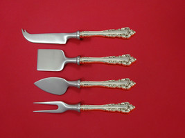Medici New by Gorham Sterling Silver Cheese Serving Set 4 Piece HHWS  Cu... - $325.71