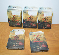 WORLD WAR Z Card Game Lot Zombie Pandemic University Games 2013 Strategy - $15.86