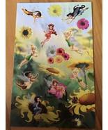 "Disney's Tinker Bell Stickers Decal Sheet 6.5"" x 4"" Disney Faries NEW - $2.69"
