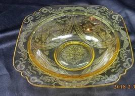"Federal Glass Amber ""Madrid' Rim Soup Bowl - $6.88"