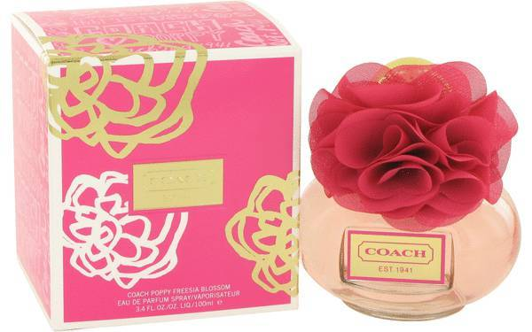 Coach Poppy Freesia Blossom 3.4 Oz Eau De Parfum Spray