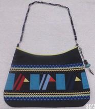 Native American Patchwork RedBird Blue BIRDS Ladies Bag Purse HandMade S... - $59.99