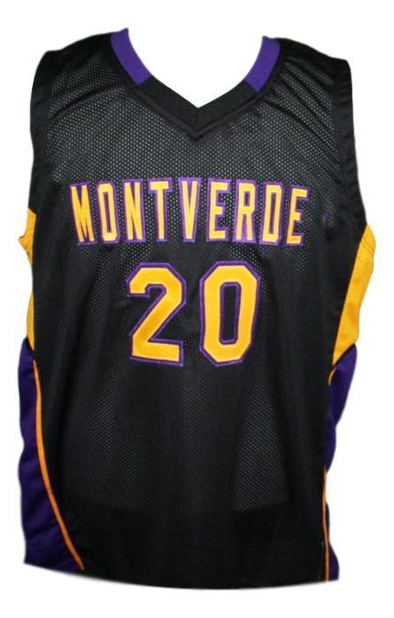 Ben simmons  20 montverde academy basketball jersey black   1