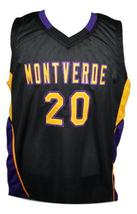 Ben Simmons Montverde Academy Basketball Jersey New Sewn Black Any Size image 1