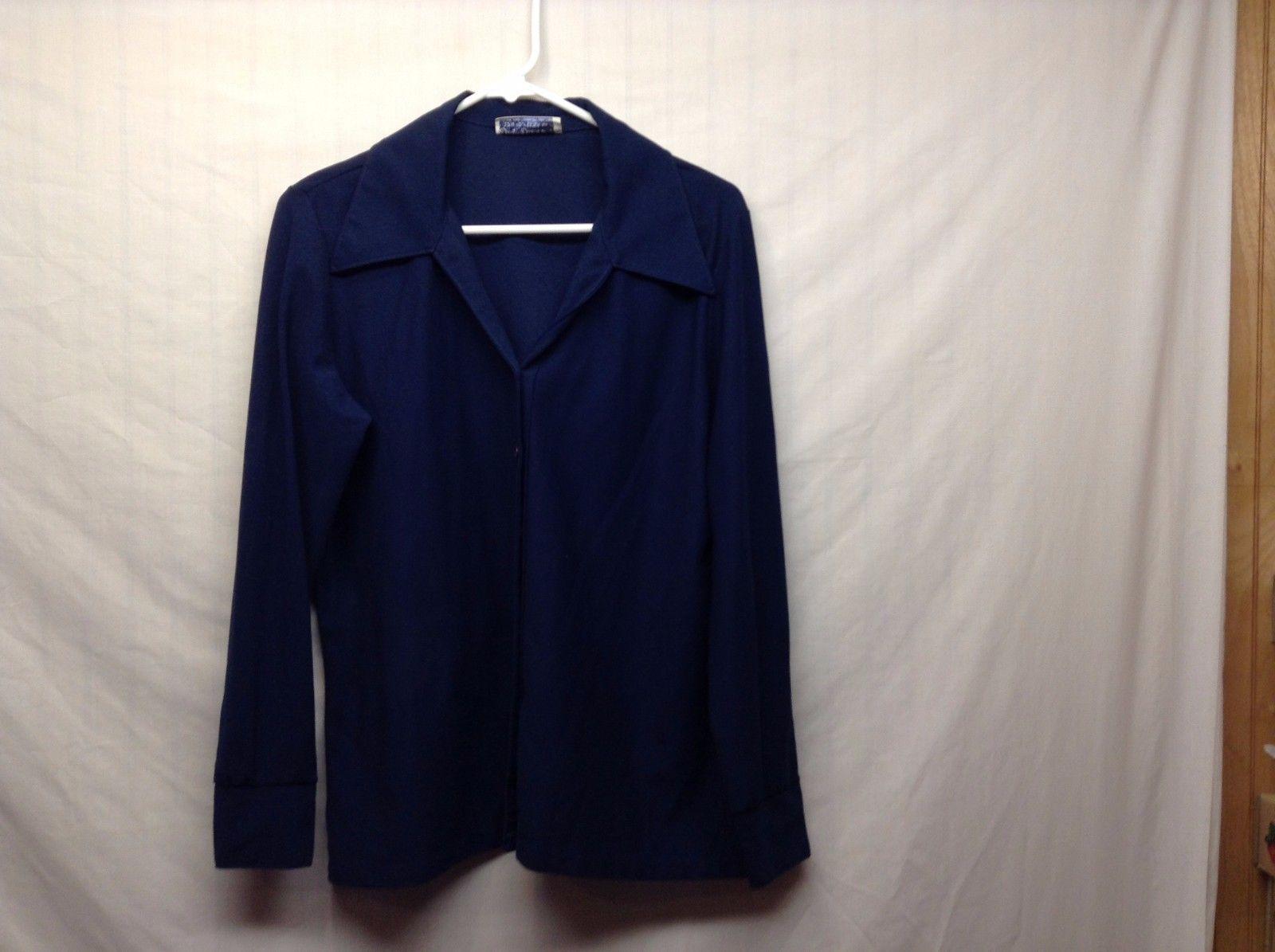 Ship'N Shore Button Up Shirt Blouse Sz 18