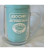 Hires Root Beer Chug-A-Lug Mug 630 CHED AM Radio  - $35.53