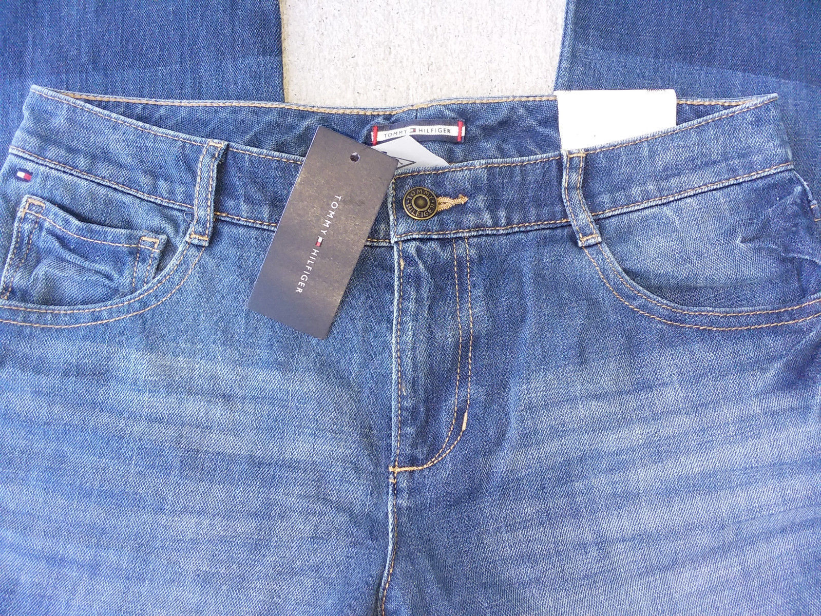 Tommy Hilfiger Girl's Below the Waist Jeans, 16 image 3