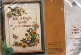 Life Is Fragile The Creative Circle Stitchery Crewel Kit 1004 Birds Flow... - $7.00