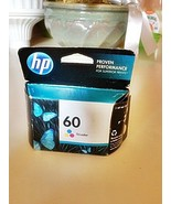 HP 60 Tri-color Original Ink Cartridge (CC643WN). FREE SHIPPING.  - $19.79