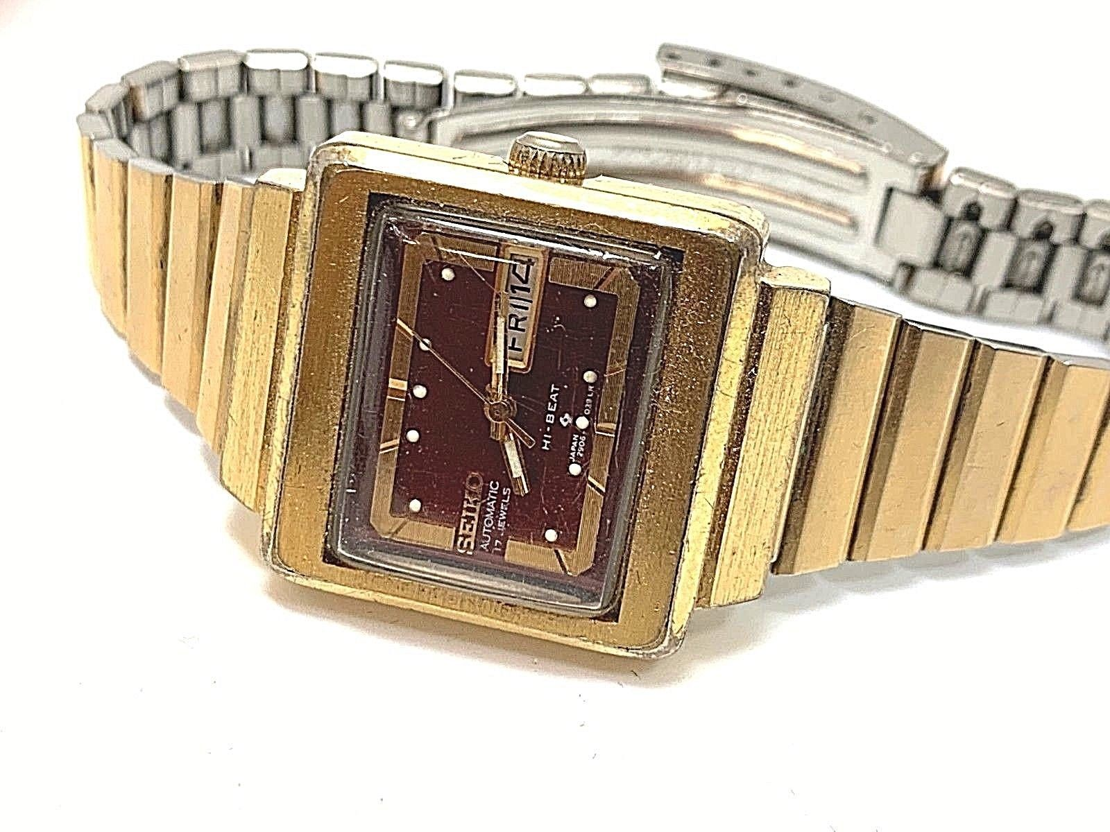 Vintage Seiko women watch automatic 17 jewels japan serviced hi-beat