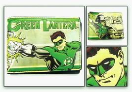 DC Comics Green Lantern Comic Art and Name Bi-Fold Vinyl Wallet NEW UNUSED - $16.40
