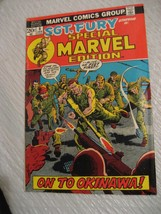 SGT. FURY special marvel edition #8 vf condition 1973 - $9.99