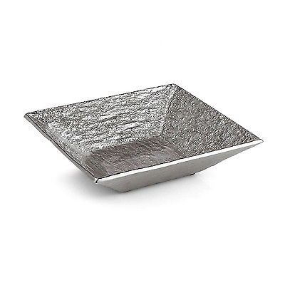 Michael Aram Block Square Serving Bowl Silver