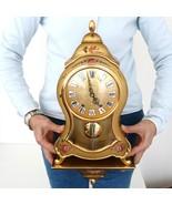 Swiss ELUXA Vintage Wall Mantel Clock + Console Neuchatel VERY RARE! XXL... - $759.00
