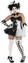 Amscan Tricksterina Bouffon Clown Adulte Femmes Grande Taille Halloween ... - $73.51