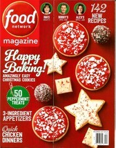 FOOD NETWORK Magazine, December 2017, Holiday Baking 142 New Recipes, Ch... - $2.62 CAD