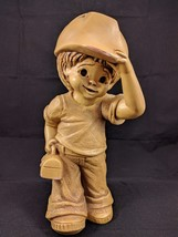 FANNYKINS SCULPTURE Solar Statuary by Bill Mack Bustin My Britches 1981 - $18.87