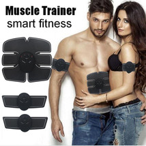 Abdominal Muscle Training Stimulator Toning EMS Belt Body Gym Fitness Ge... - $17.77+