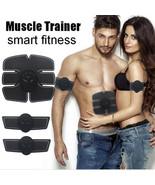 Abdominal Muscle Training Stimulator Toning EMS Belt Body Gym Fitness Ge... - $17.77+