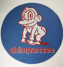 Cranium Hullabaloo Children Game Blue Chimpanzee Circle Foot Mat Floor P... - $5.94