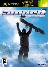 Amped Snowboarding Xbox OG - $7.75