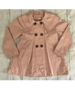 Fashion Kids Girls Buttoned Light Pink Peacoat EUC - $2.00