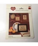 Pennsyvania Dutch Cross Stitch Pattern Book The Need'l Love Company - $9.74