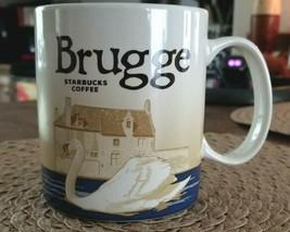 2014 STARBUCKS Coffee Cup Mug BRUGGE Global Icon Series 16 oz - $65.00