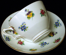 Crown Staffordshire Tea Cup & Saucer - $19.80