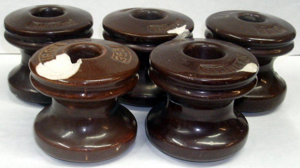 Antique Illinois 101 Ceramic Spool and 50 similar items