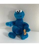 "Nanco Sesame Street Cookie Monster Plush 20"" Doll Stuffed Animal Vintage - $18.81"