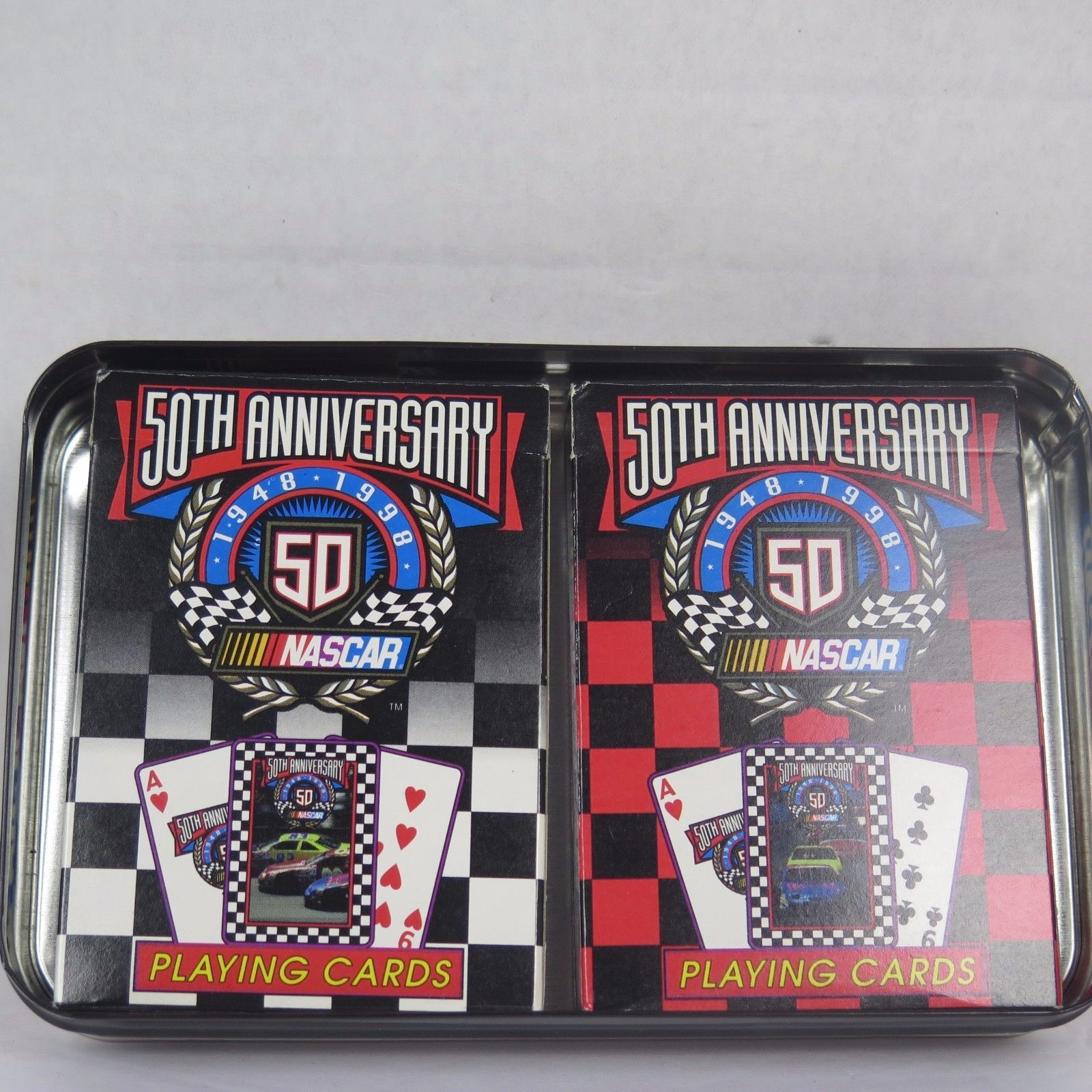 NASCAR 50th Anniversary Playing Cards And 11 Similar Items