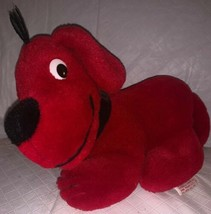 "Vintage CLIFFORD The Big Red Dog Stuffed Puppy Animal Plush Toy 9"" Dakin 1990 - $9.99"