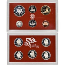 2004-S 90% Silver Proof Set United States Mint Original Government Packaging Box image 2