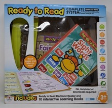 Ready to Read Electronic Reader & 10 Interactive Learning Books - $33.35