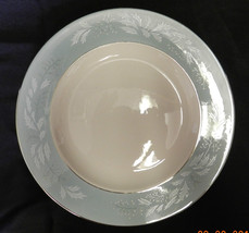 """Cavalier True Romance Eggshell Dinner 10"""" Plate Chipped Homer Laughlin V... - $19.57"""